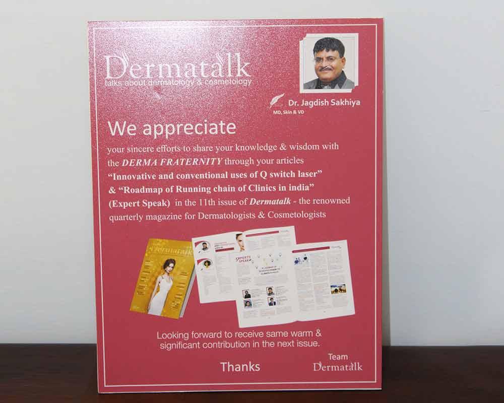 Dermatalk - Talk about dermatologist & Cosmetology
