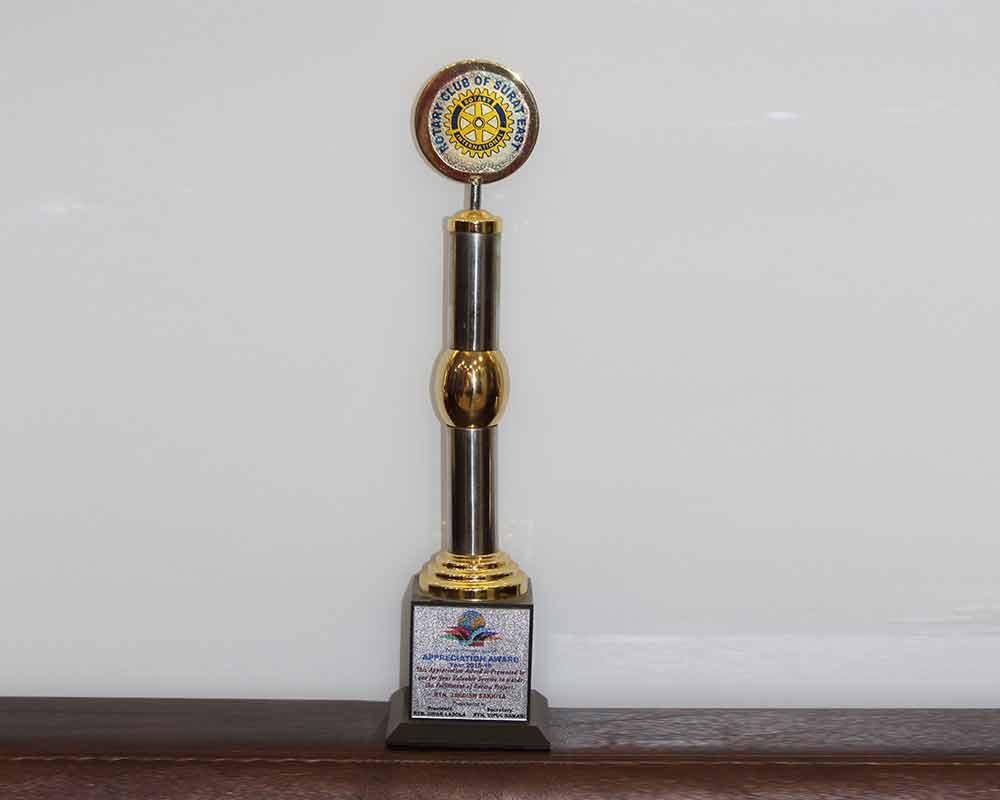 Appreciation Award, 2015-18