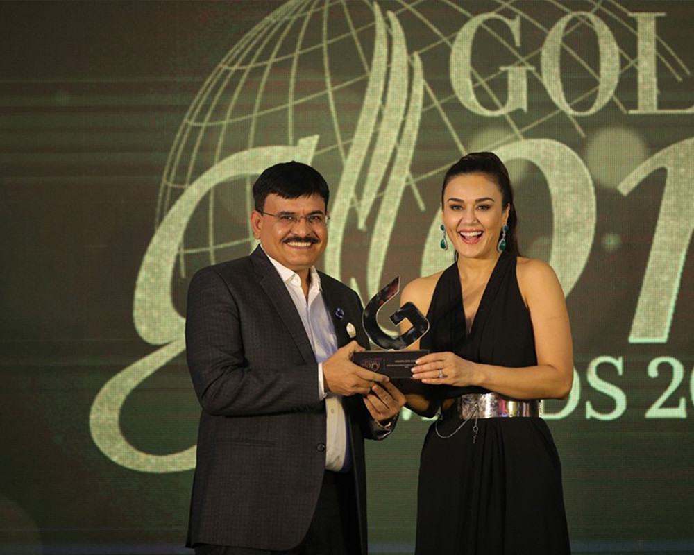Golden Glory award 2019 by Preity Zinta